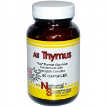 Natural Sources All Thymus - 60 Capsules