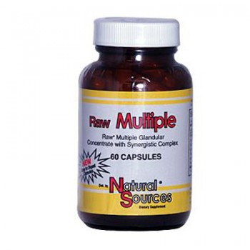 Natural Sources Raw Multiple - 60 Capsules