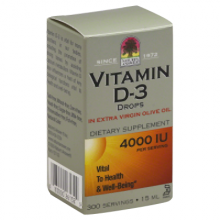 Nature'S Answer Vitamin D-3 Drops - 4000 IU - 0.5 fl oz