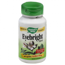 Nature'S Way Eyebright Herb - 100 Capsules