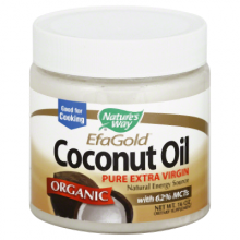 Nature's Way Coconut Oil-Extra Virgin Organic 16 oz