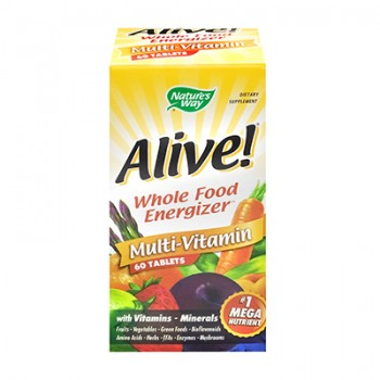 Nature's Way Alive! Multi-Vitamin - 60 Tablets