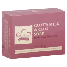 Nubian Heritage Bar Soap Goat's Milk And Chai - 5 oz
