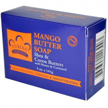 Nubian Heritage Bar Soap Mango Butter - 5 oz