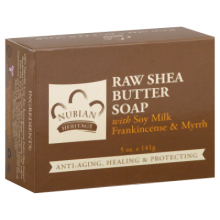 Nubian Heritage Bar Soap Raw Shea Butter with Myrrh - 5 oz