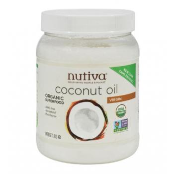 Nutiva Extra Virgin Coconut Oil Organic - 54 fl oz
