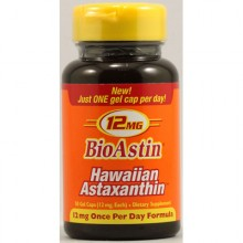 Nutrex Hawaii Bioastin Hawaiin Astaxanthin - 12 mg - 50 Gel Caps