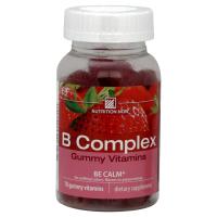 Nutrition Now B Complex Adult Gummy Vitamins Strawberry - 70 Gummies