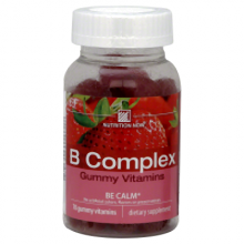 Nutrition Now B Complex Adult Gummy Vitamins Strawberry - 70 Gummies