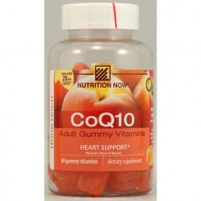 Nutrition Now Coq10 Adult Gummy Vitamin - 60 Gummy Vitamins (Pack of 1)
