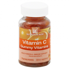 Nutrition Now Vitamin C Adult Gummy Vitamins Orange - 70 Gummies