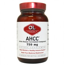 Olympian Labs AHCC - 750 mg - 60 capsules