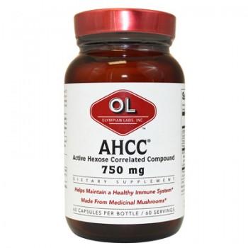 Olympian Labs AHCC - 750 mg - 60 capsules