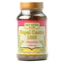 Only Natural Nopal Cactus 1000 - 1000 mg - 90 Veggie Capsules