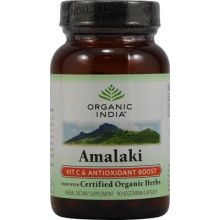Organic India Amalaki Vitamin C And Antioxidant Boost - 90 VCaps