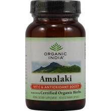 Organic India Amalaki Vitamin C And Antioxidant Boost - 90 VCaps
