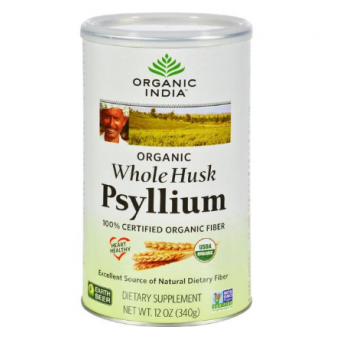 Organic India Fiber Harmony Psyllium Whole Husk - 12 oz