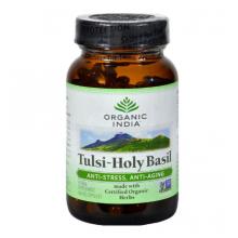 Organic India Tulsi Holy Basil - 90 Vegetarian Capsules