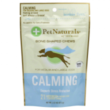 Pet Naturals of Vermont Calming For Medium and Large Dogs Chicken Liver - 21 Soft Chews