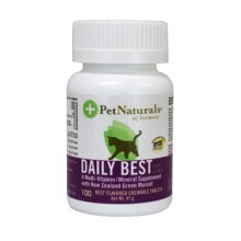 Pet Naturals of Vermont Daily Best Multi-Vitamin For Cats Beef - 100 Chewable Tablets