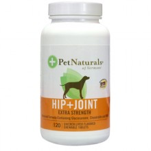 Pet Naturals of Vermont Hip and Joint Extra Strength for Dogs Chicken Liver - 120 Chewables