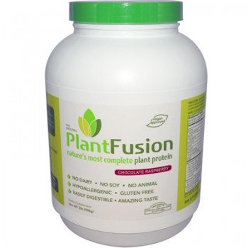 PlantFusion Nature's Most Complete Plant Protein - Chocolate Raspberry - 2 lbs