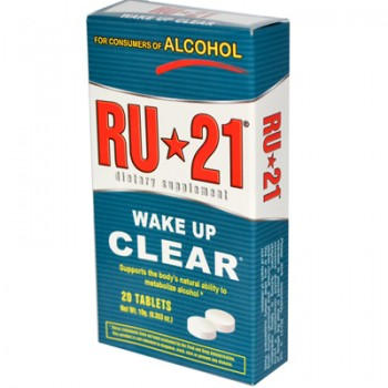 RU-21 Alcohol Metabolism Supplement - 20 Tablets