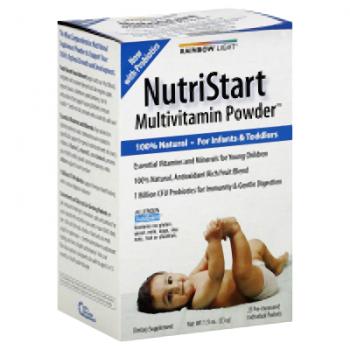 Rainbow Light NutriStart Multivitamin Powder - 25 Packets