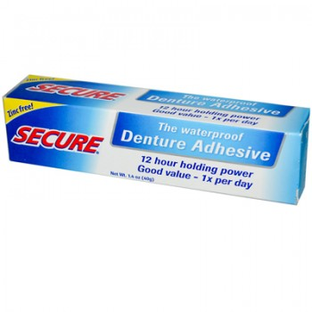 Secure Denture Bonding Cream 1.4 oz
