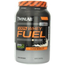 Twinlab 100% Whey Fuel Nutritional Shake Vanilla Rush 2 Pound