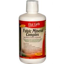 Vital Earth Minerals Fulvic Mineral Complex - 32 fl oz