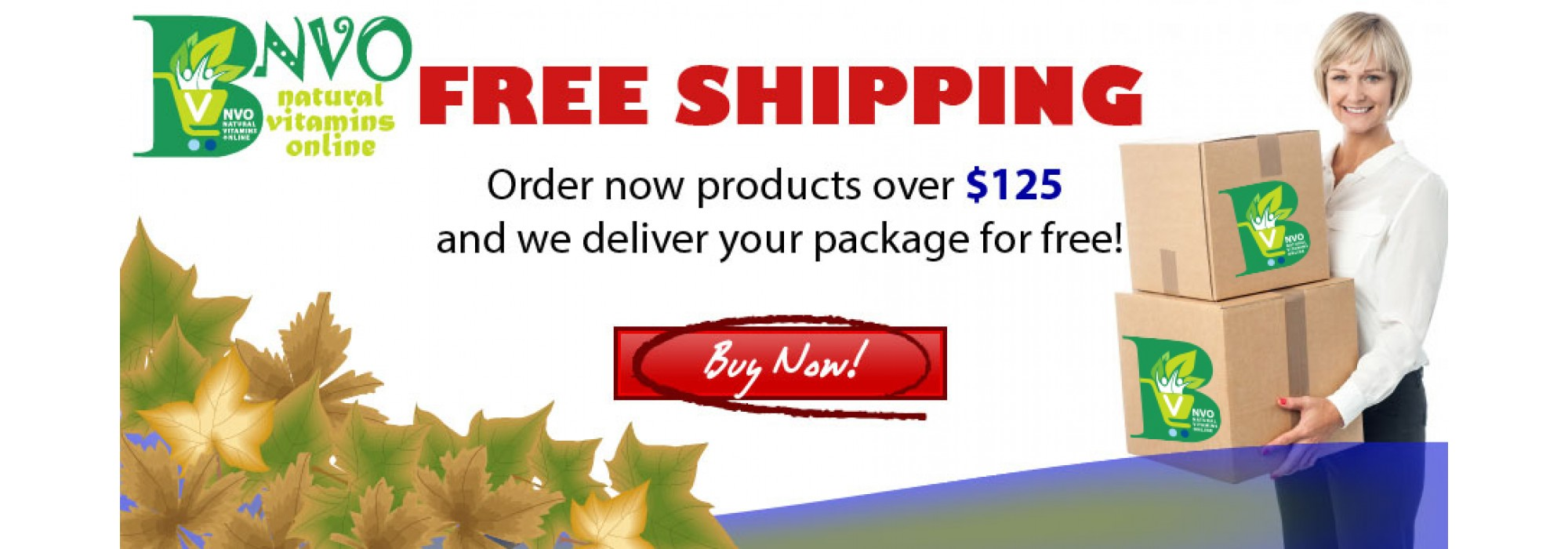 NVO Free Shipping