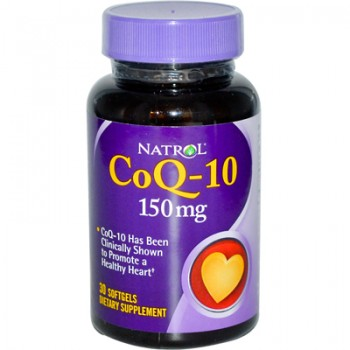 Natrol CoQ-10 - 150 mg - 30 Softgels
