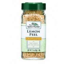 Spice Hunter Lemon Peel, Granulated (6x2.1Oz)