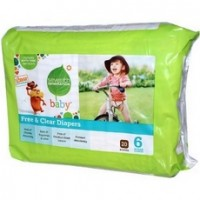 Seventh Generation 7 Gen Diapers Stage 6 2000 ct (4x20 CT)