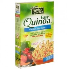 Nature's Earthly Choice All Natural Organic Easy Quinoa, Garden Vegetable (6x4.8Oz)