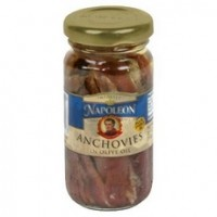 Napoleon Flat Anchovies In Olive Oil Jars  (12x12/3.5 Oz)