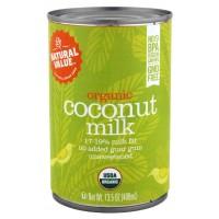 Natural Value Organic Coconut Milks  (12x12/13.5 Oz)