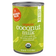 Natural Value Organic Coconut Milks  (12x12/13.5 Oz)