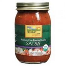 Field Day Organic Fire Roasted Garlic Salsa (12x16Oz)
