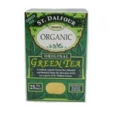 St. Dalfour Premium Organic Green Tea (6x25 Bag )