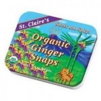 St. Claire's Organic Ginger Mints Tin (6x1.5Oz)