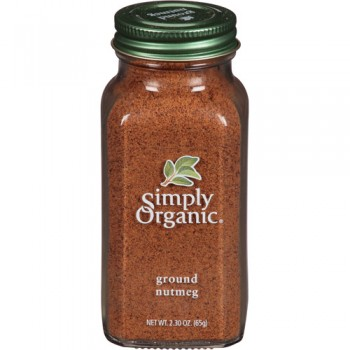 Simply Organic Ground Nutmeg (6x2.3Oz)