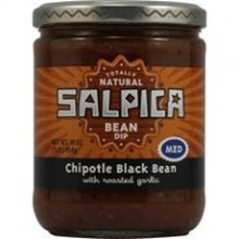 Salpica Bean Medium Chipotle Black Bean Dip (6x16Oz)