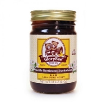 Glorybee Raw Buckwheat Honey (6x18Oz)