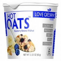 Love Grown Hot Blueberry Banana Walnut Oats (8x2.22Oz)
