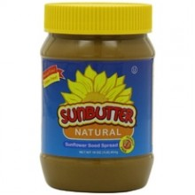 Sunbutter Natural Sunflower Seed Spread (6x16Oz)