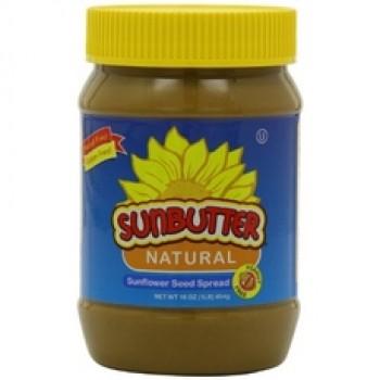 Sunbutter Natural Sunflower Seed Spread (6x16Oz)