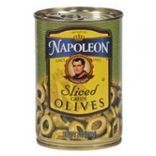 Napoleon Sliced Green Olives (12x7Oz)