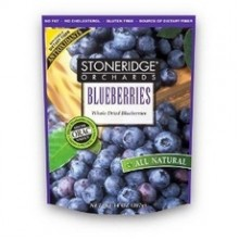 Stoneridge Orchards Whole Dried Blueberries (6x4Oz)